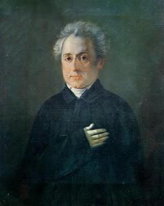 Προσωπογραφία του Διονυσίου Σολωμού από άγνωστο καλλιτέχνη. Μουσείο της Ιστορικής και Εθνολογικής Εταιρείας.